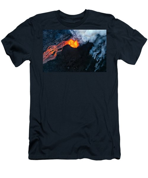 Fissure 8 Cinder Cone Men's T-Shirt (Athletic Fit)