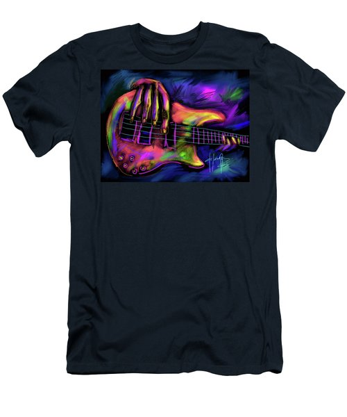 Five String Bass Men's T-Shirt (Athletic Fit)