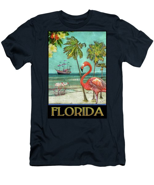 Men's T-Shirt (Athletic Fit) featuring the photograph Florida Advertisement by Hanny Heim
