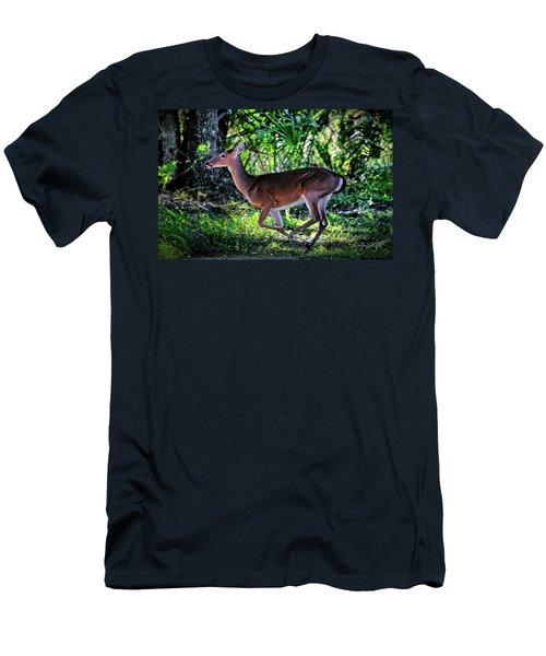 Florida Deer Men's T-Shirt (Athletic Fit)