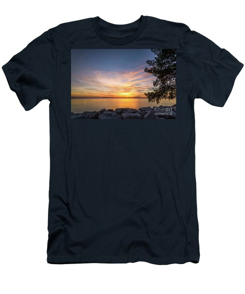 Florida Sunset #3 Men's T-Shirt (Athletic Fit)