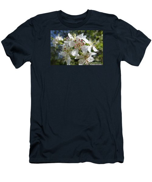 Flowering Of White Flowers 2 Men's T-Shirt (Athletic Fit)