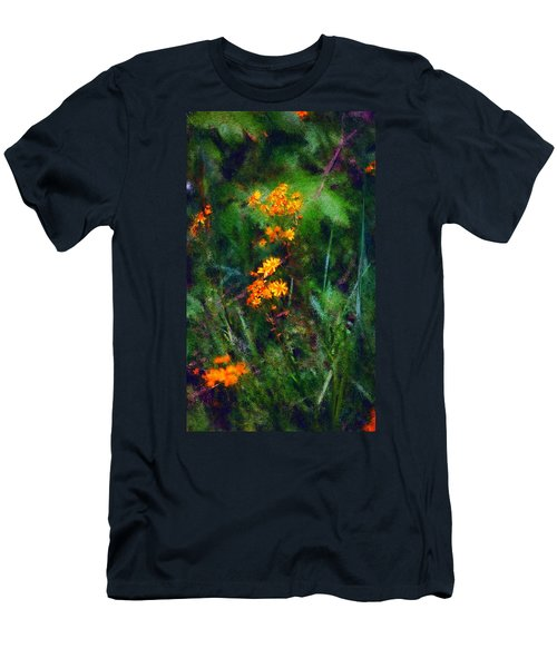 Flowers In The Woods At The Haciendia Men's T-Shirt (Athletic Fit)