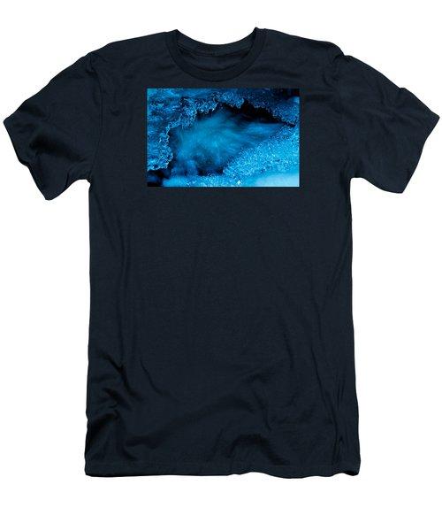 Flowing Diamonds Men's T-Shirt (Athletic Fit)