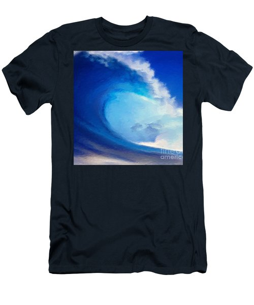 Fluid Men's T-Shirt (Slim Fit) by Anthony Fishburne