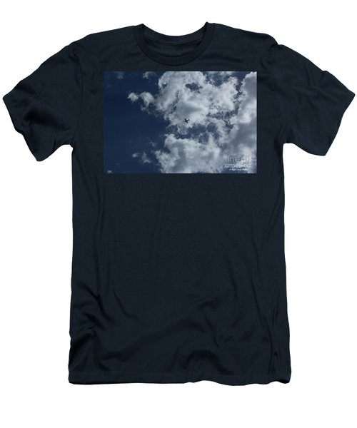 Men's T-Shirt (Athletic Fit) featuring the photograph Fly Me To The Moon by Megan Dirsa-DuBois