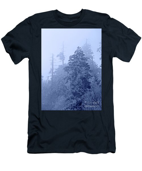 Men's T-Shirt (Slim Fit) featuring the photograph Fog On The Mountain by John Stephens