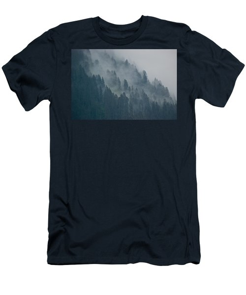 Foggy Mountain Ridge Men's T-Shirt (Athletic Fit)