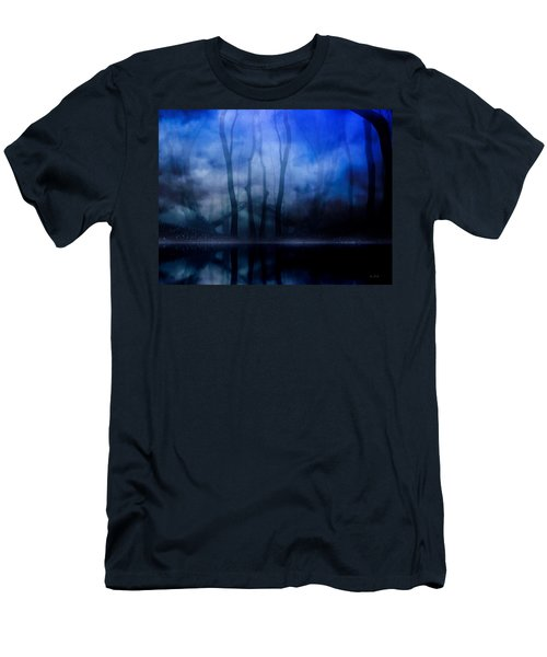 Foggy Night Men's T-Shirt (Slim Fit) by Gabriella Weninger - David