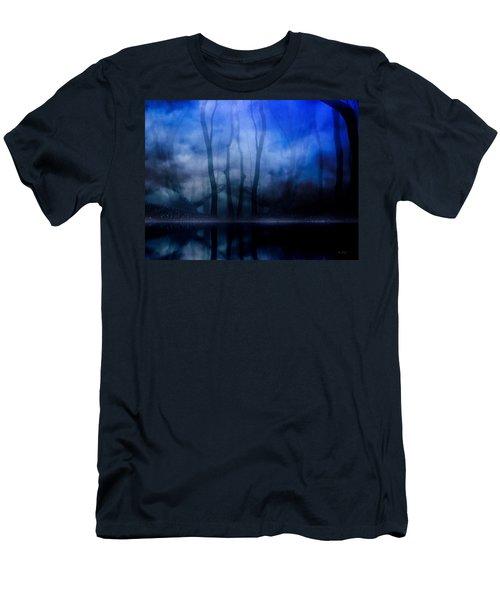 Foggy Night Men's T-Shirt (Slim Fit) by Gabriella Weninger - David