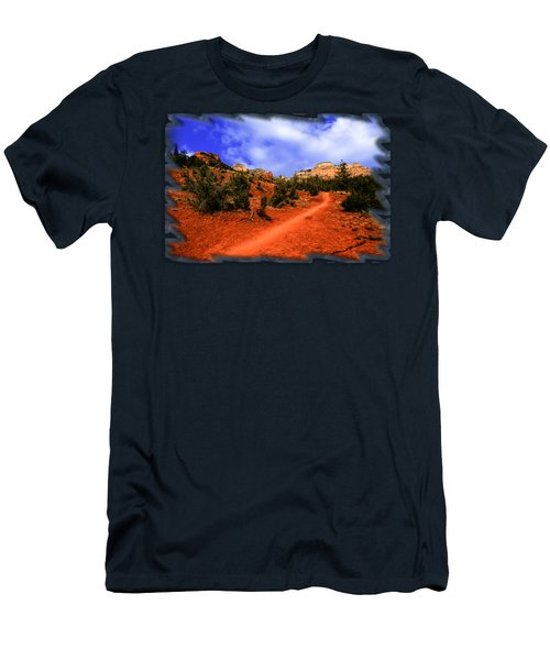 Follow Me Men's T-Shirt (Slim Fit) by Mark Myhaver