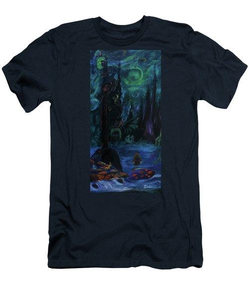 Forbidden Forest Men's T-Shirt (Athletic Fit)