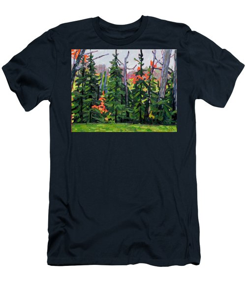 Forest Wall Men's T-Shirt (Athletic Fit)