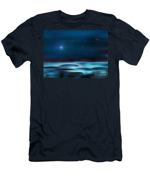 Wishing Men's T-Shirt (Slim Fit) by Yul Olaivar