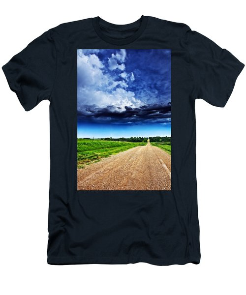 Forming Clouds Over Gravel Men's T-Shirt (Athletic Fit)