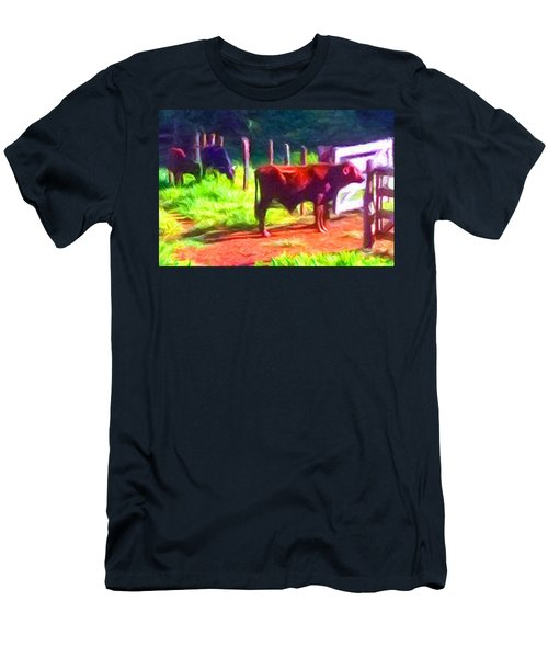 Franca Cattle 2 Men's T-Shirt (Athletic Fit)