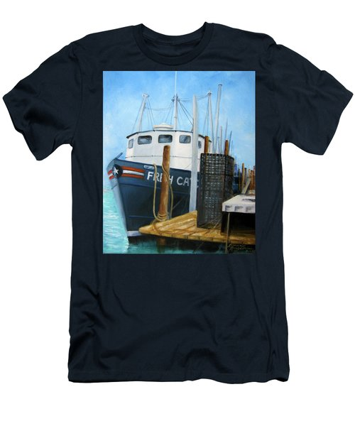 Fresh Catch Fishing Boat Men's T-Shirt (Athletic Fit)