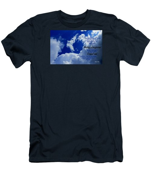 Men's T-Shirt (Slim Fit) featuring the photograph Freshness by David Norman