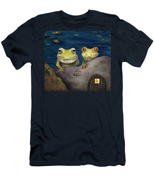 Frogland Detail Men's T-Shirt (Athletic Fit)