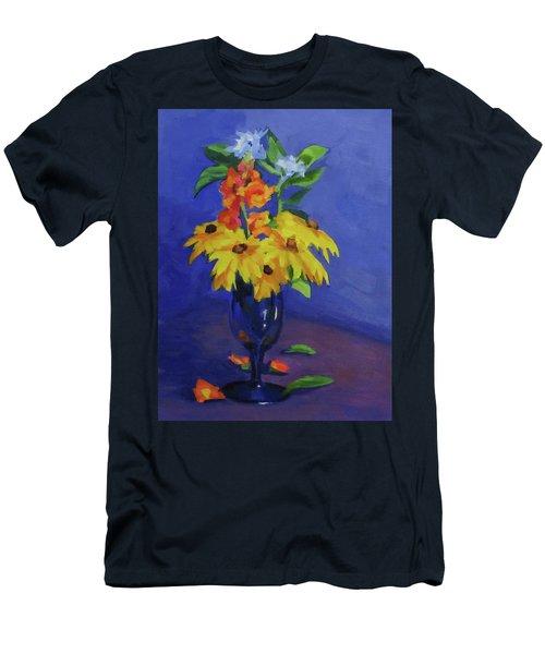 From The Garden Men's T-Shirt (Slim Fit) by Karen Ilari