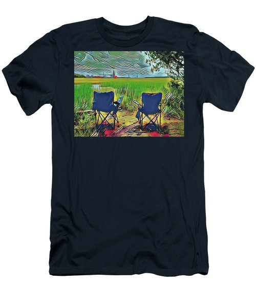 Front Row Seat Men's T-Shirt (Athletic Fit)