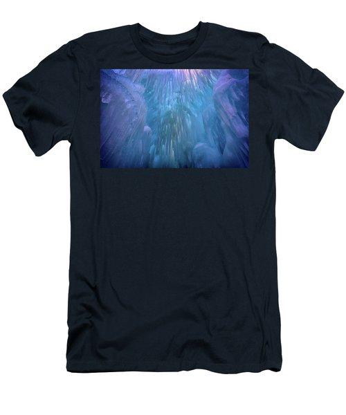 Men's T-Shirt (Slim Fit) featuring the photograph Frozen by Rick Berk