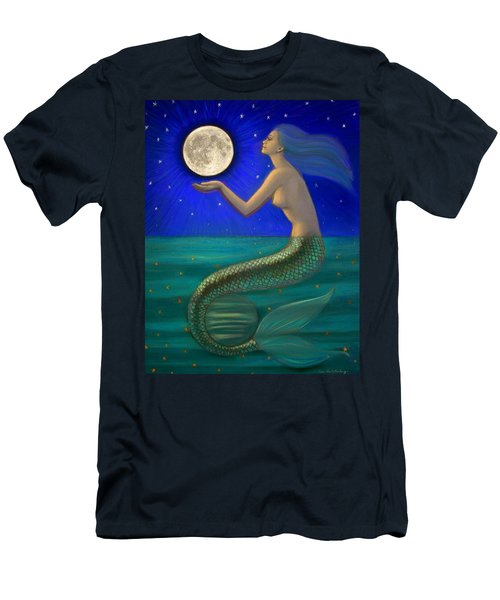 Full Moon Mermaid Men's T-Shirt (Athletic Fit)