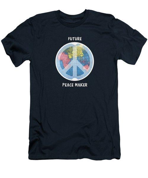 Future Peace Maker Men's T-Shirt (Athletic Fit)