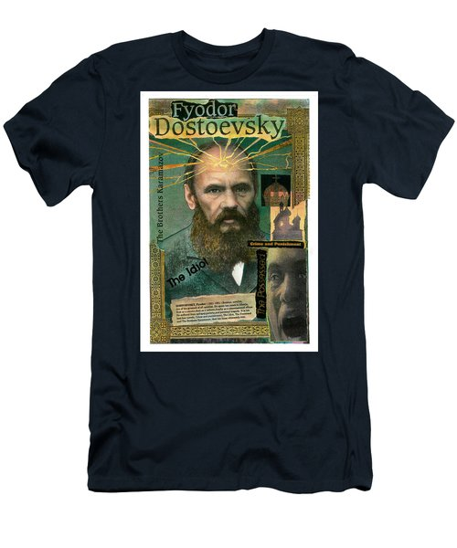 Fyodor Dostoevsky Men's T-Shirt (Athletic Fit)