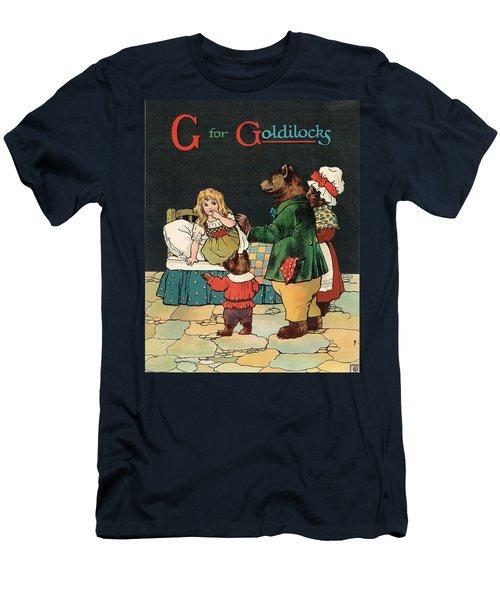 G For Goldilocks Men's T-Shirt (Athletic Fit)