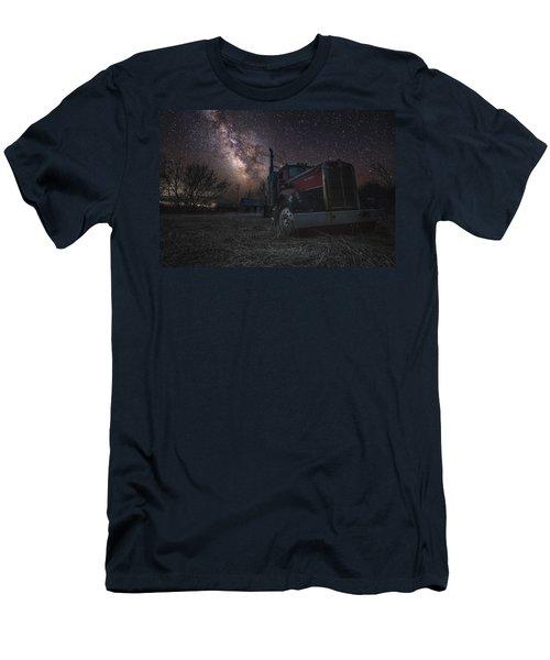 Galactic Big Rig Men's T-Shirt (Athletic Fit)