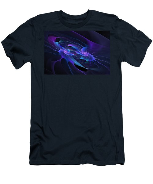 Galaxy Merger Men's T-Shirt (Athletic Fit)