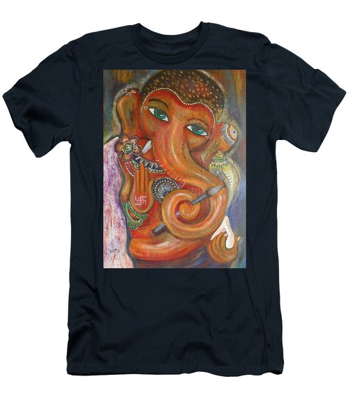 Ganesha My Muse Men's T-Shirt (Athletic Fit)