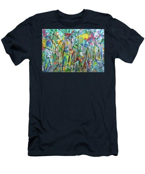 Garden Flourish Men's T-Shirt (Athletic Fit)