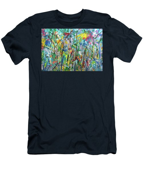 Garden Flourish Men's T-Shirt (Athletic Fit)