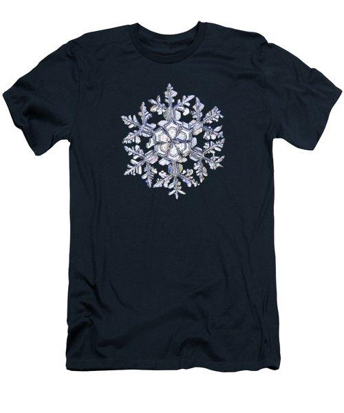 Gardener's Dream, White On Black Version Men's T-Shirt (Slim Fit) by Alexey Kljatov