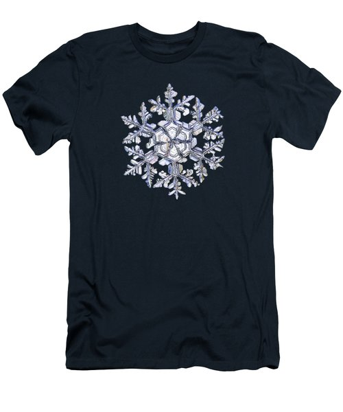 Gardener's Dream, White On Black Version Men's T-Shirt (Athletic Fit)