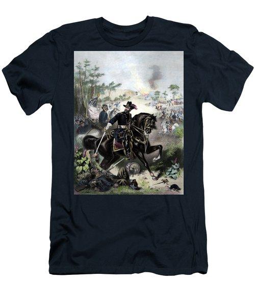 General Grant During Battle Men's T-Shirt (Athletic Fit)