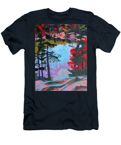 George Lake East Basin Men's T-Shirt (Athletic Fit)