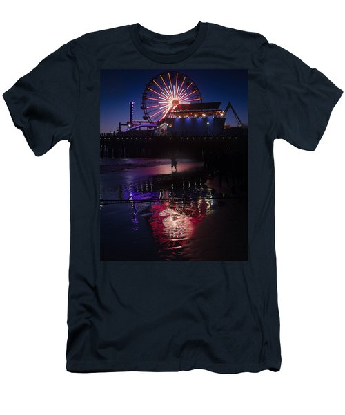 Men's T-Shirt (Athletic Fit) featuring the photograph Get The Shot by Lora Lee Chapman
