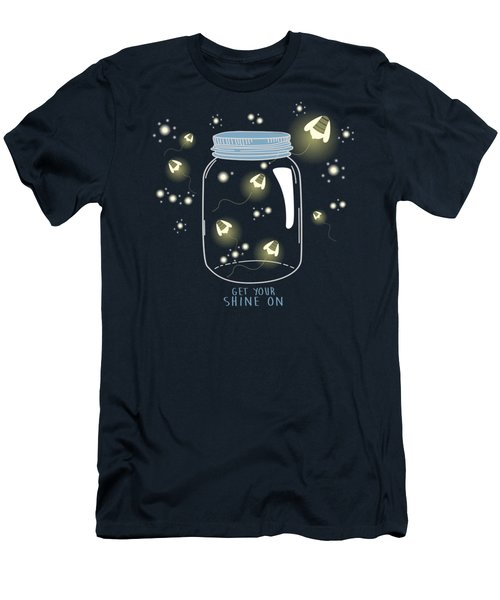 Get Your Shine On Men's T-Shirt (Athletic Fit)