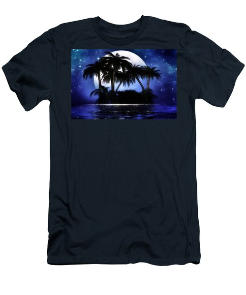 Shadow Island Men's T-Shirt (Slim Fit) by Gabriella Weninger - David