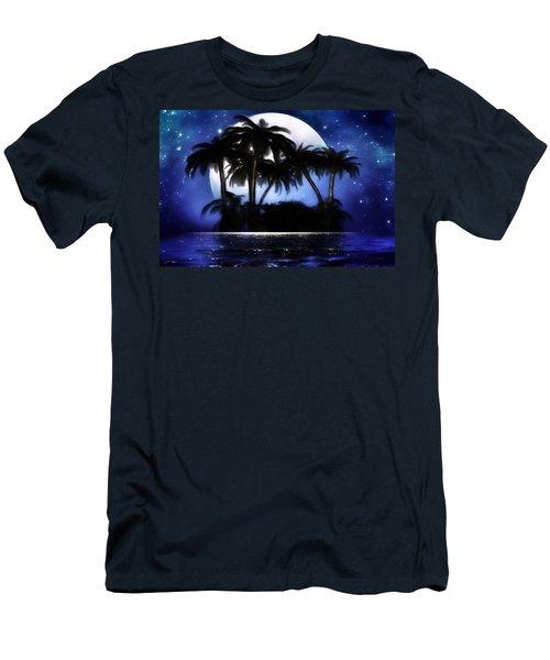 Shadow Island Men's T-Shirt (Slim Fit) by Gabriella Weninger - David
