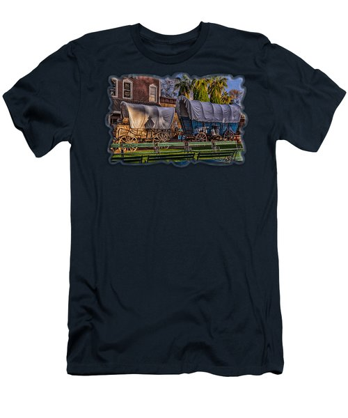 Men's T-Shirt (Athletic Fit) featuring the photograph Ghost Of Old West No.1 by Mark Myhaver