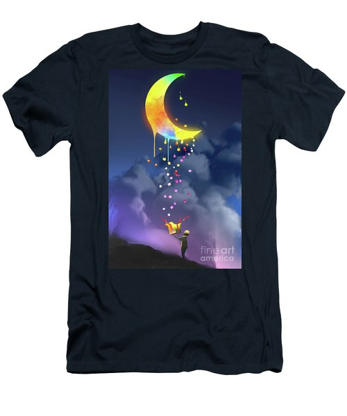 Gifts From The Moon Men's T-Shirt (Athletic Fit)