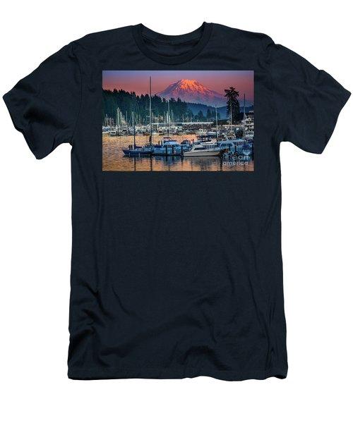 Gig Harbor Dusk Men's T-Shirt (Athletic Fit)