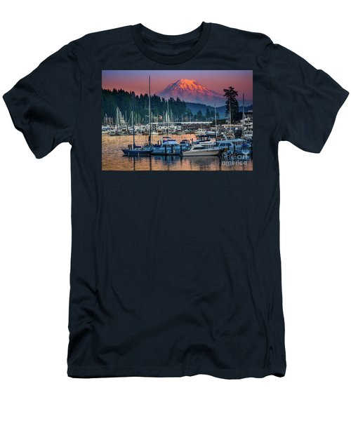Gig Harbor Dusk Men's T-Shirt (Athletic Fit)