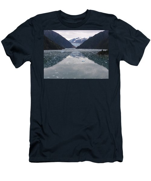 Glacier Blues Men's T-Shirt (Athletic Fit)