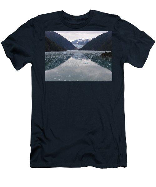 Glacier Blues Men's T-Shirt (Athletic Fit)
