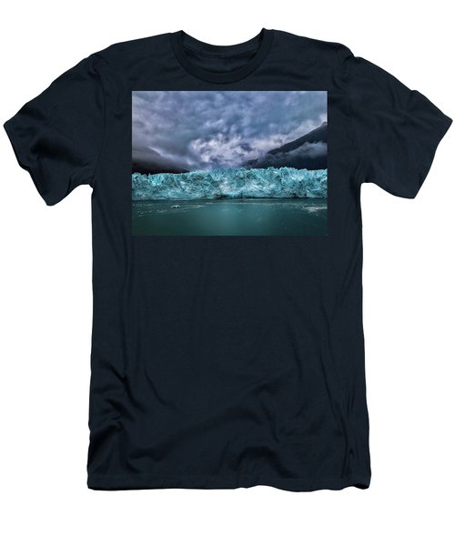 Men's T-Shirt (Athletic Fit) featuring the photograph Glacier by Lucian Capellaro